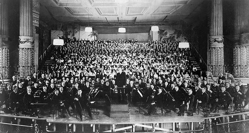 Gustav Mahler en la tómbola