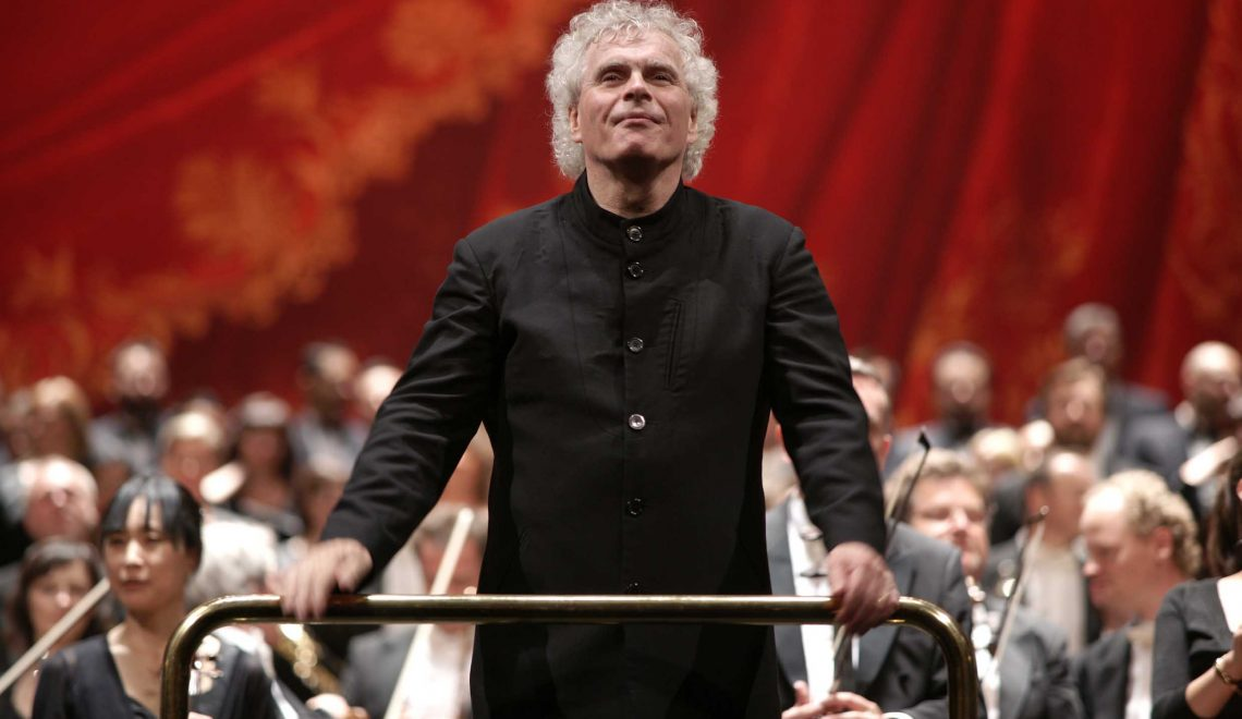 Simon Rattle vuela a Londres