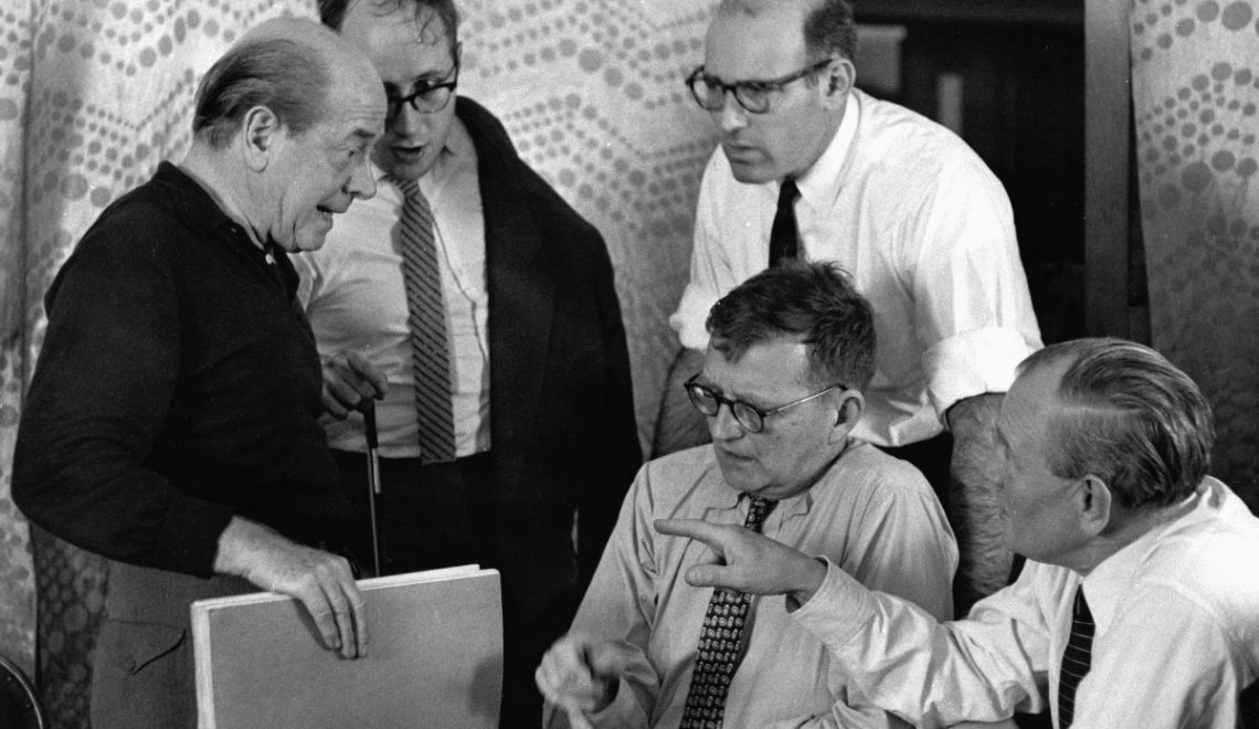 Retrato de grupo con Shostakovich
