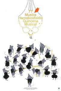 Cartel anunciador 77ª edición. Autora: Elena Odriozola