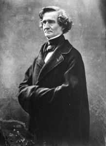 Retrato de Berlioz por Nadar, 1857